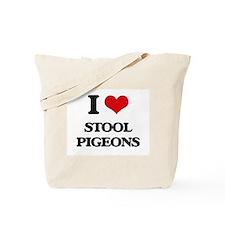 stool pigeons Tote Bag