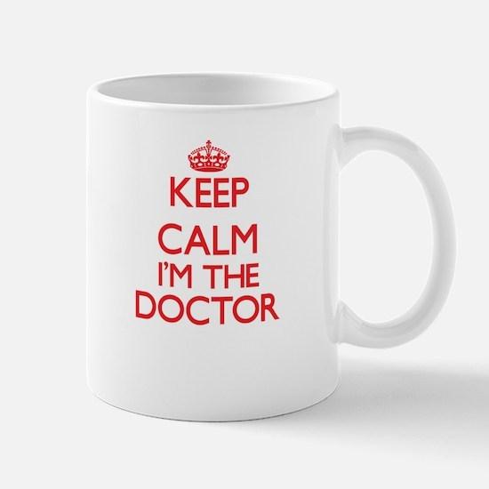 Keep calm I'm the Doctor Mugs