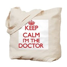 Keep calm I'm the Doctor Tote Bag