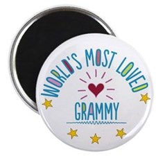 World's Most Loved Grammy Magnets