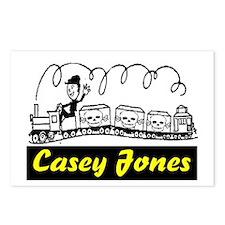 CASEY JONES Postcards (Package of 8)