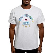 World's Most Loved Grammy T-Shirt