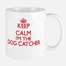 Keep calm I'm the Dog Catcher Mugs