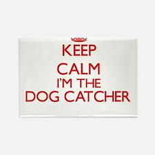 Keep calm I'm the Dog Catcher Magnets