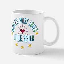 World's Most Loved Little Sister Mug