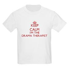 Keep calm I'm the Drama Therapist T-Shirt