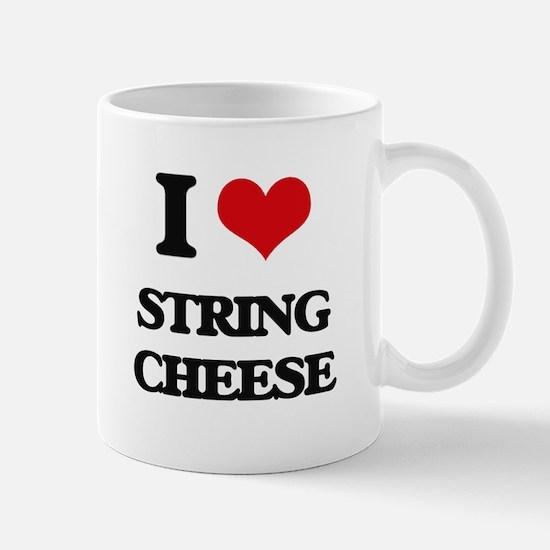 string cheese Mugs
