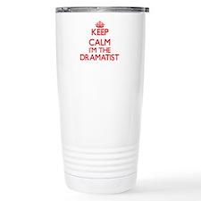 Keep calm I'm the Drama Travel Coffee Mug