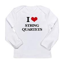 string quartets Long Sleeve T-Shirt