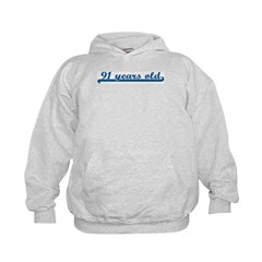 91 years old (sport-blue) Hoodie
