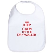 Keep calm I'm the Drywaller Bib