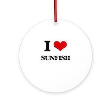 sunfish Ornament (Round)