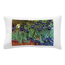 Irises by van Gogh Vintage Post Impres Pillow Case