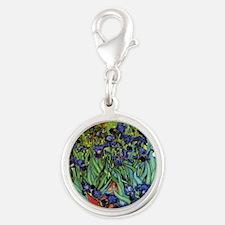 Irises by van Gogh Vintage Pos Charms