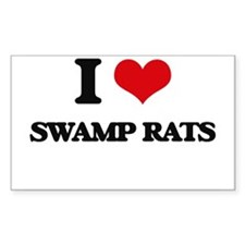 swamp rats Decal