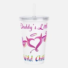 Daddy's Little Wild Child Acrylic Double-wall Tumb