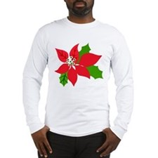 Cute Mele kalikimaka Long Sleeve T-Shirt