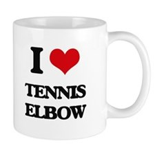 tennis elbow Mugs