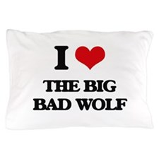 the big bad wolf Pillow Case