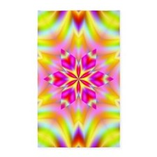 Psychedelic Star Area Rug