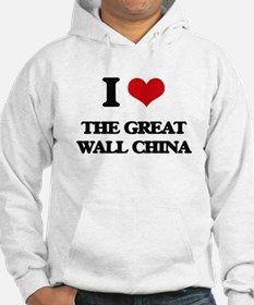 the great wall china Hoodie