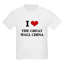 the great wall china T-Shirt