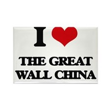 the great wall china Magnets
