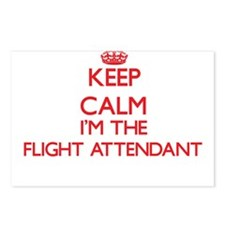 Keep calm I'm the Flight Postcards (Package of 8)