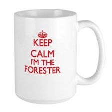 Keep calm I'm the Forester Mugs