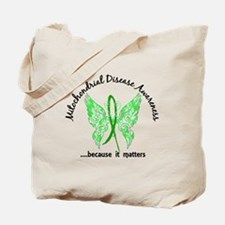 Mitochondrial Disease Butterfly 6.1 Tote Bag