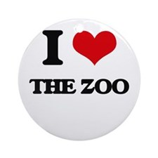 the zoo Ornament (Round)