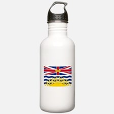 British Columbia flag Water Bottle