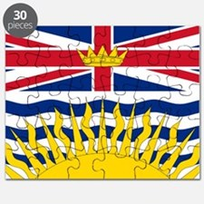 British Columbia flag Puzzle