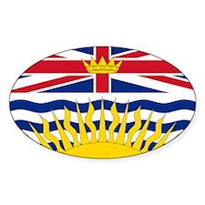 British Columbia flag Decal