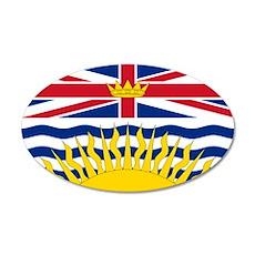 British Columbia flag Wall Decal