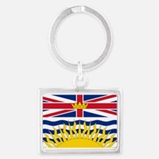 British Columbia flag Landscape Keychain