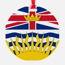 British Columbia flag Ornament