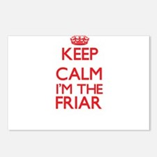 Keep calm I'm the Friar Postcards (Package of 8)