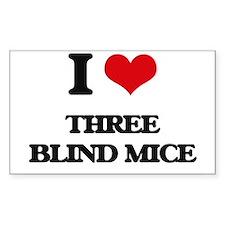 three blind mice Decal