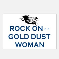 GOLD DUST WOMAN Postcards (Package of 8)
