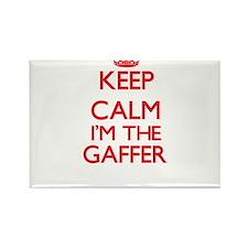 Keep calm I'm the Gaffer Magnets