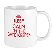 Keep calm I'm the Gate Keeper Mugs