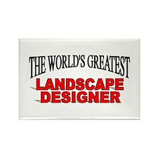 """""""The World's Greatest Landscape Designer"""" Rectangl"""