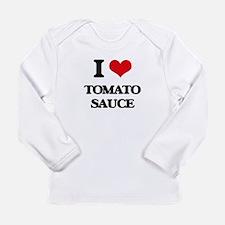 tomato sauce Long Sleeve T-Shirt