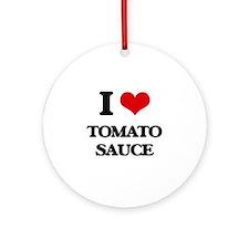 tomato sauce Ornament (Round)