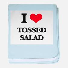tossed salad baby blanket