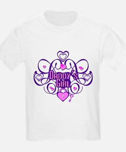 Daddy's Girl Purple/Pink T-Shirt