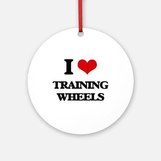 training wheels Ornament (Round)