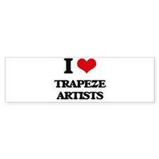 trapeze artists Bumper Bumper Sticker