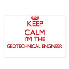 Keep calm I'm the Geotech Postcards (Package of 8)